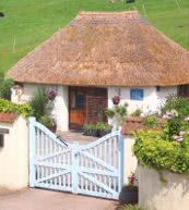 Romantisk cottage til 2 personer i Devon.