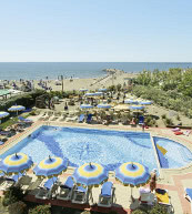 Holiday park in Cavallino-Treporti, directly at the beach.