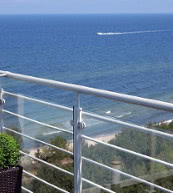 Apartment for up to five people located directly at the beach of Dziwnówek.