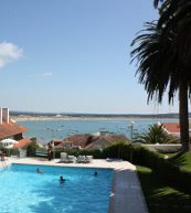 View of the bay of São Martinho do Porto from an apartment for six people.