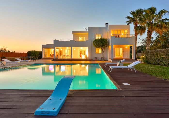 hyra hus i spanien